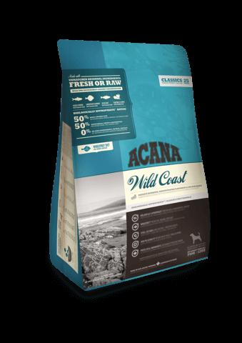 Купить корм для собак Акана с рыбой Acana CLASSICS Wild Coast