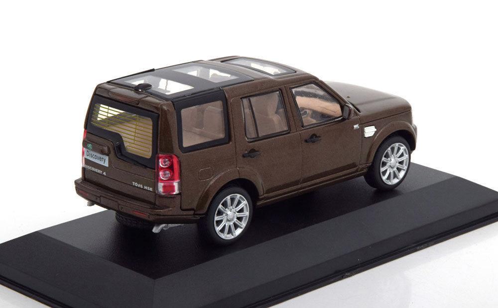Коллекционная модель Land Rover Discovery 4 4X4 2010 Metallic Brown