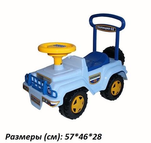 Автомобиль-каталка Полиция муз. руль У440 (Уфа)