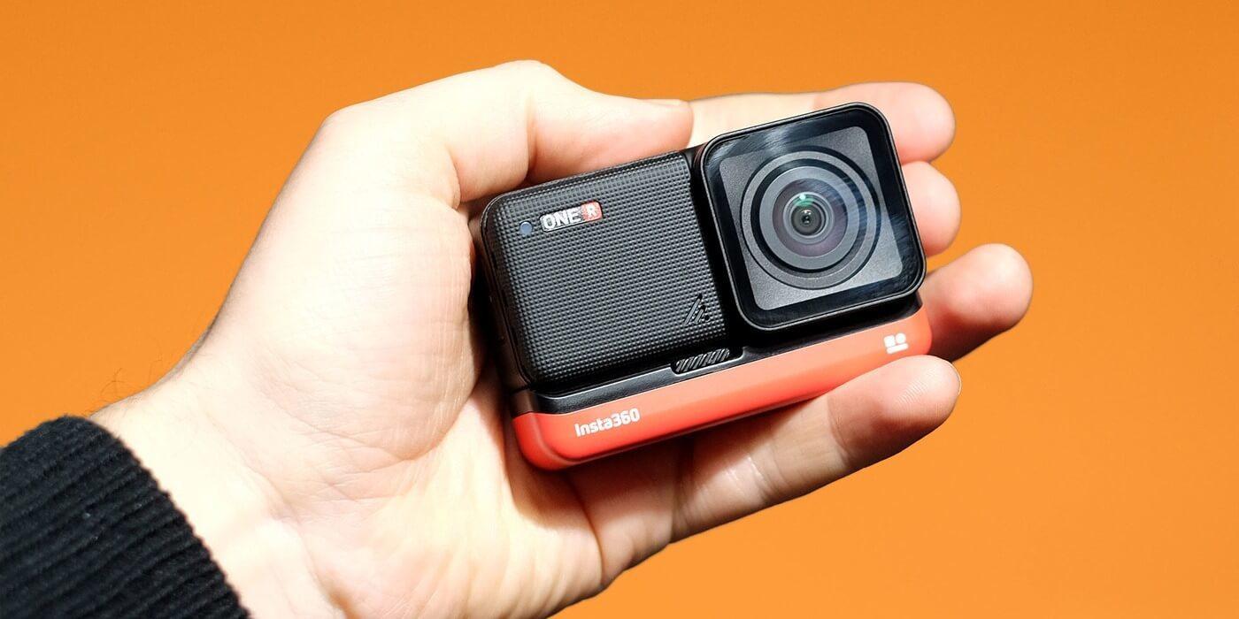 Экшн-камера Insta360 ONE R 4K