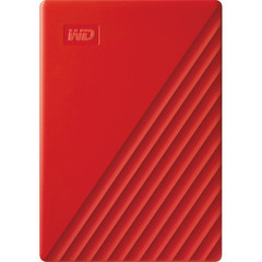 Внешний HDD Western Digital 4TB My Passport USB 3.2 2019 (Красный) WD