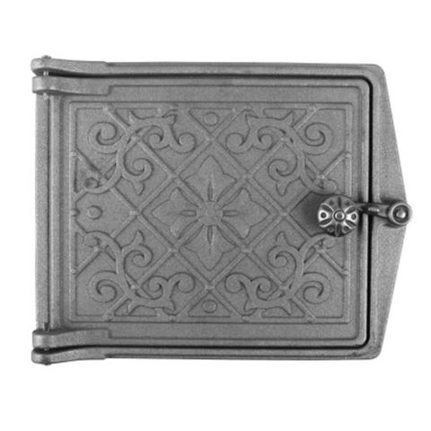 Дверка топочная печная ДТ-3 Литком 291×230х67мм (250х210х36мм)