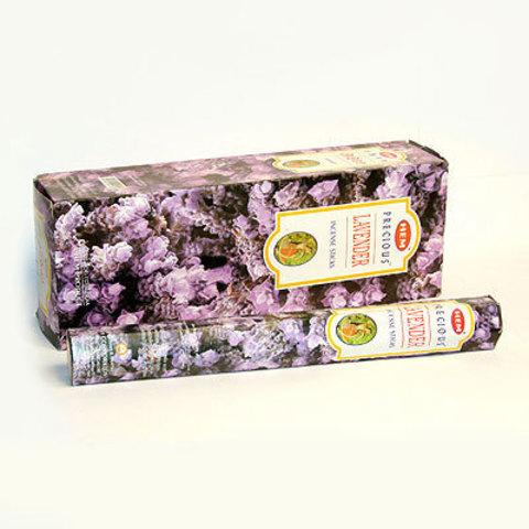 Благовония HEM Hexa Prec.LAVENDER аромапалочки Любимая лаванда , 20 г (20 ароматических палочек)