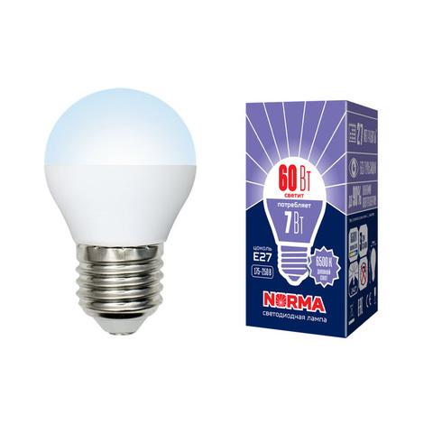 LED-G45-7W/DW/E27/FR/NR Лампа светодиодная. Форма