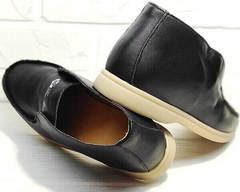 Туфли полуботинки женские осень Rozen 6023+1 «Loro Piana».