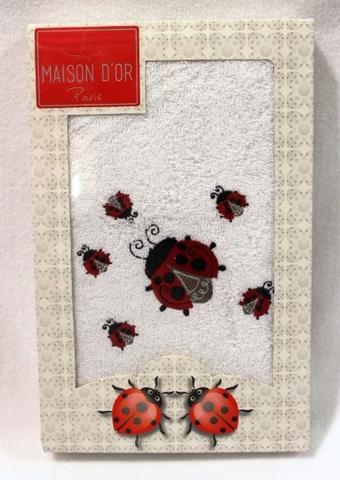 LADYBUG  ЛЕДИБАГ полотенце махровое в коробке Maison Dor Турция