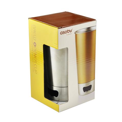 Стакан Asobu Brew cup opener (0,55 литра), золотистая