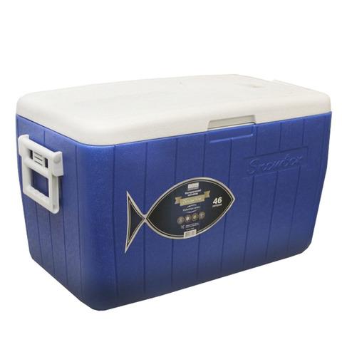 Изотермический контейнер (термобокс) Camping World Fisherman (46 л.), синий