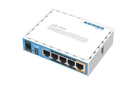 Роутер USB-WiFi MikroTik hAP (RB951Ui-2nD)