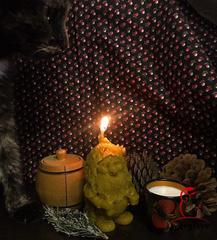 Свеча «Дух Дома. Домовой»