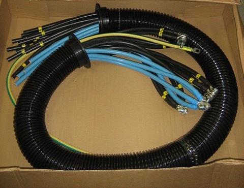 Проводка / LOOM POWER MCCB S6 800A 3/4POLE ROW АРТ: MDS3582
