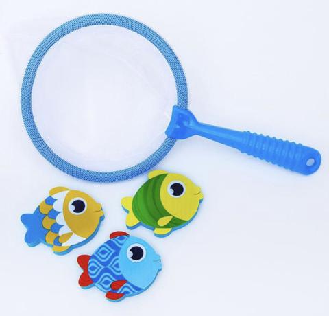 Набор игрушек для ванны + сачок