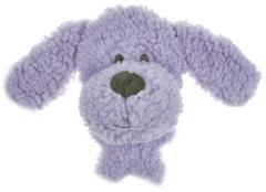 Игрушка для собак, AROMADOG BIG HEAD, Собачка 12 см сиреневая