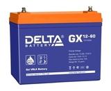 Аккумулятор DELTA GX 12-60 ( 12V 60Ah / 12В 60Ач ) - фотография