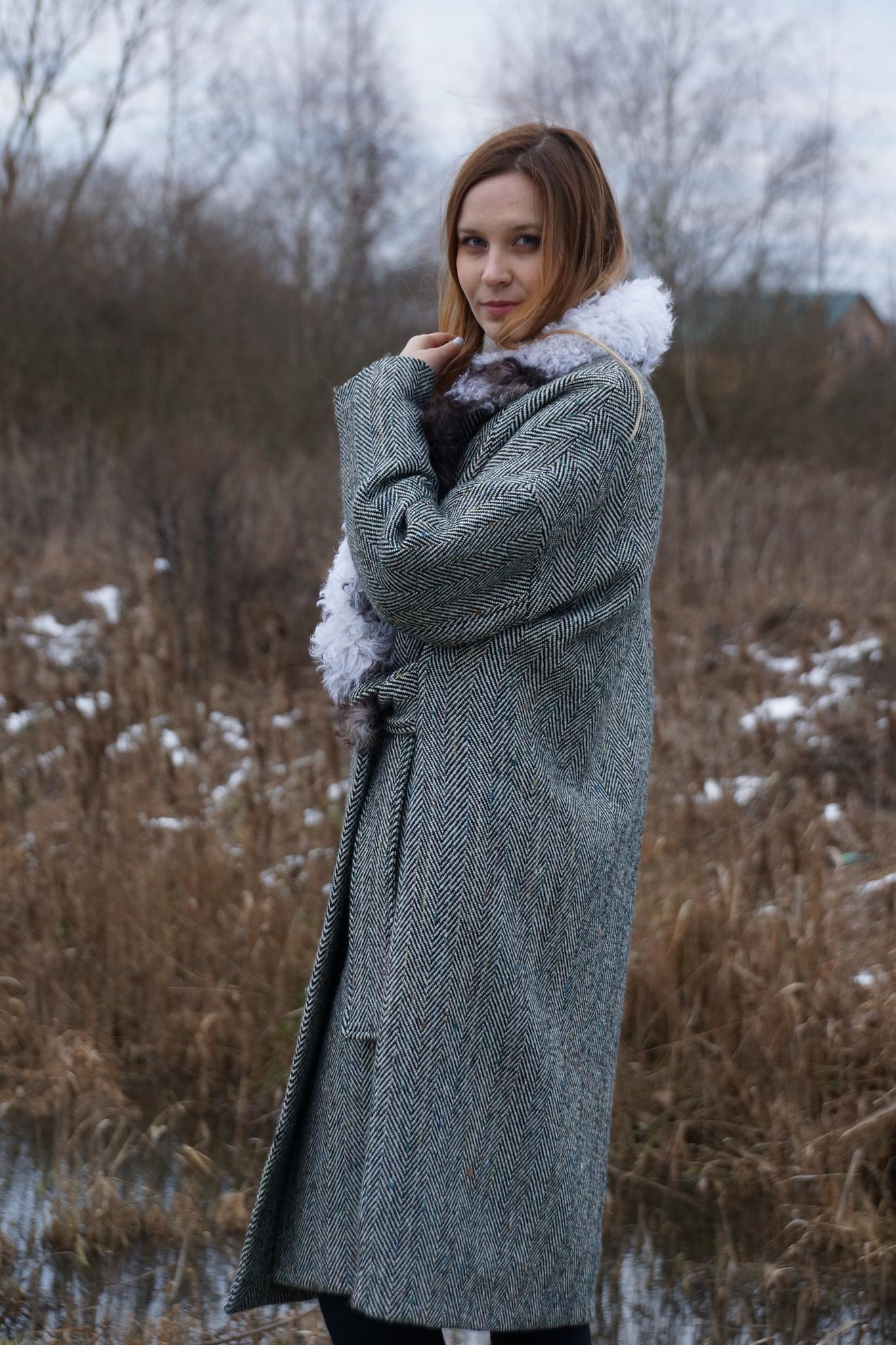 Пальто-оверсайз зимнее Vivi
