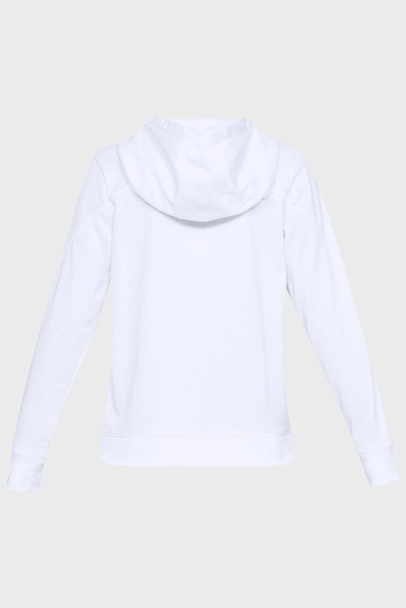 Женское белое худи Armor Fleece Under Armour