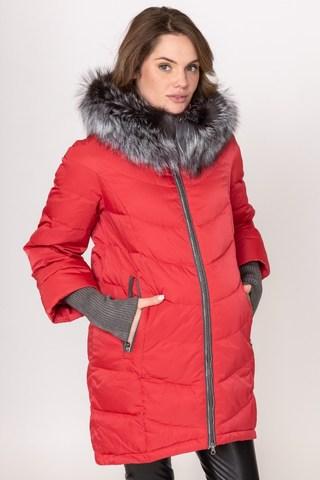 Куртка для беременных 09064 красный