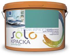 Краска рельефная SOLO мрамор, 16 кг