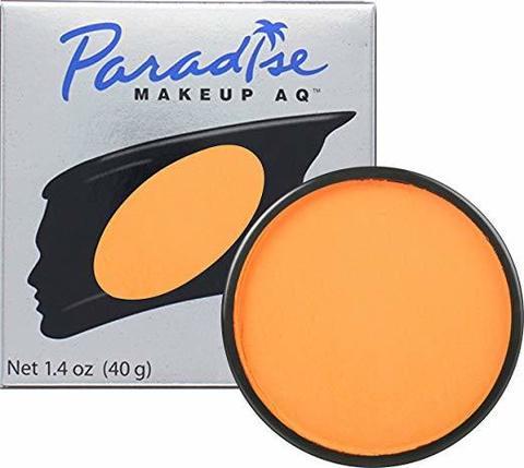 MEHRON Профессиональный аквагрим Paradise, Аквагрим Orange (Оранжевый), 40 г