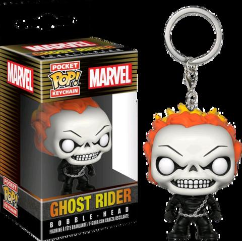 Брелок Призрачный Гонщик || POP! Keychain Ghost Rider