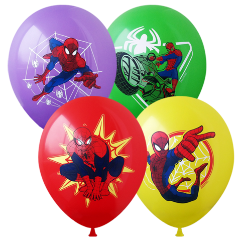 Шары Марвел Человек-паук, 30 см