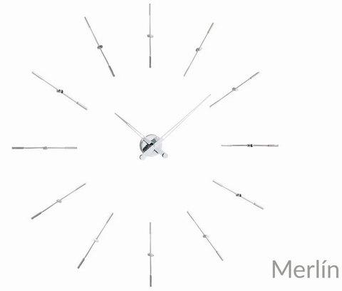 Часы Merlin i 12 хром