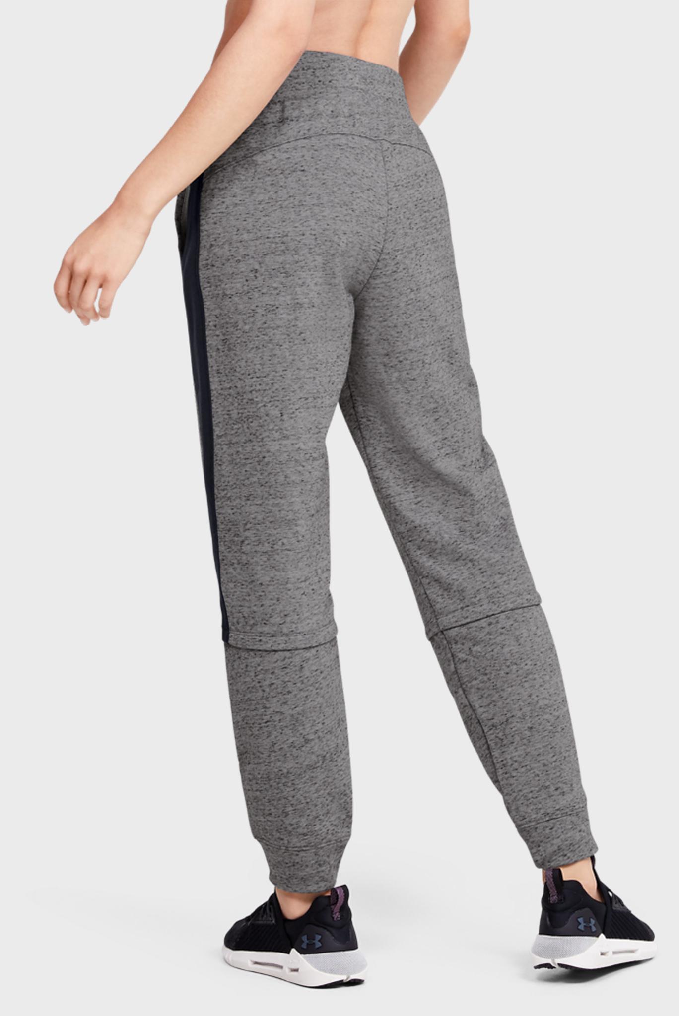 Женские серые спортивные брюки RIVAL TERRY JOGGER Under Armour
