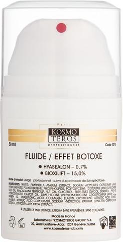 Крем-гель с ботоэффектом, Fluide/Effet botoxe,Kosmoteros (Космотерос), 50 мл