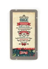 Специальная рождественская коллекция карандашей PROGRESSO MAGIC LIMITED EDITION: набор 12 цельнографитных карандашей  PROGRESSO MAGIC и 1 карандаш-блендер в металлической коробке