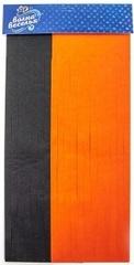 Гирлянда Тассел, Черный/Оранжевый, 35*12 см, 10 листов, 1 уп.