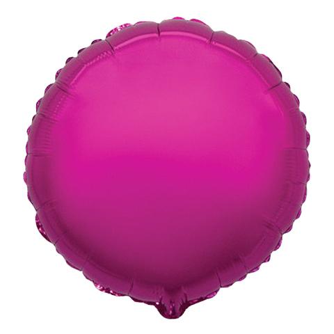 Шар-круг Лиловый, 45 см