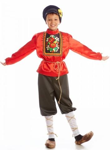 Русский народный костюм Хохлома 1