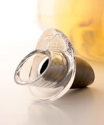 Пробка для вина с каплеуловителем, артикул 220112/1. Серия Arros
