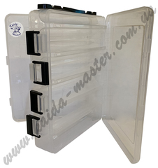 Коробка Kaida двухсторонняя для наживки ZX-204