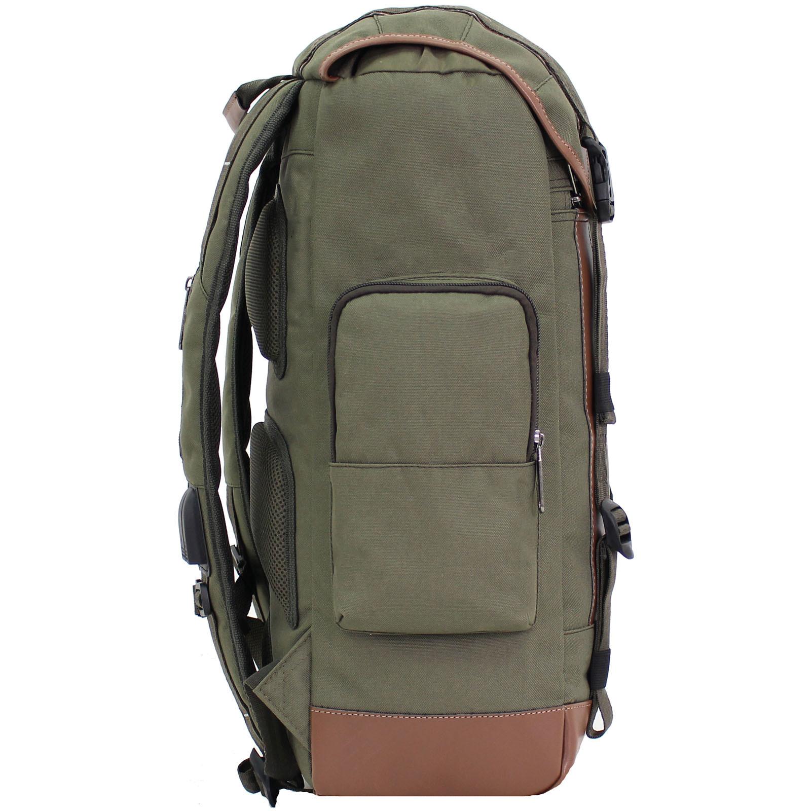 Рюкзак для ноутбука Bagland Palermo 25 л. Хаки (0017966) фото 2