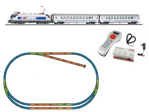 %Цифровой НАБОР% Intercity Taurus с 2-мя вагонами IC + путь ABE