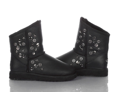 UGG & Jimmy Choo Starlit Metallic Black