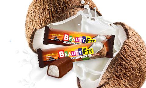 Протеиновый батончик «Beauty.Fit» Трюфель, без сахара 60 г