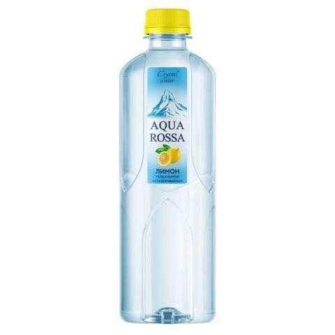 Вода AQUA ROSSA б/газа Лимон Мята 0,49 л пл/б КАЗАХСТАН