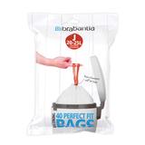 Пакет пластиковый 23 л 40 шт, артикул 115608, производитель - Brabantia