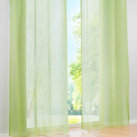Тюль вуаль на шторной ленте. Светло-Зеленый. оптом. Арт. Kv0191