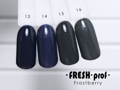 Гель-лак  Fresh prof Frost Berry FB №15