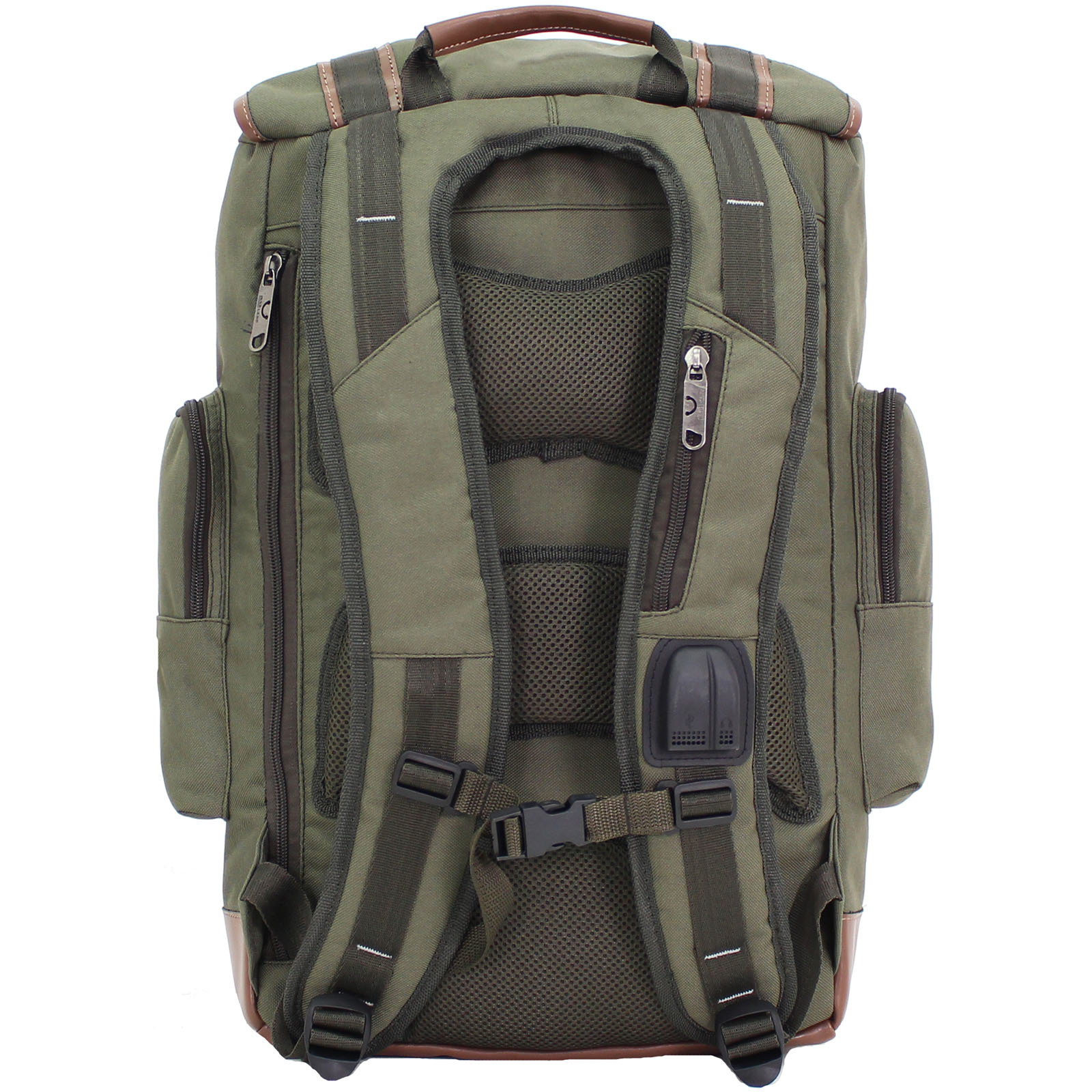 Рюкзак для ноутбука Bagland Palermo 25 л. Хаки (0017966) фото 3