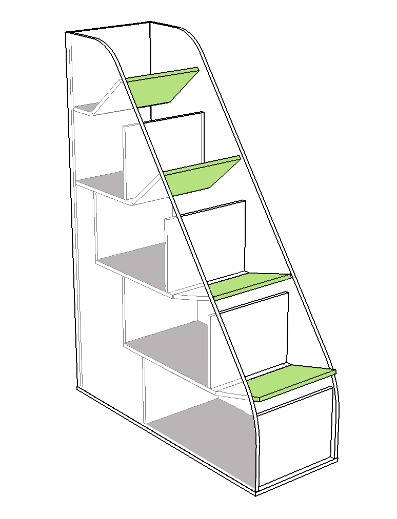 Эко №19 Комплекс лестница