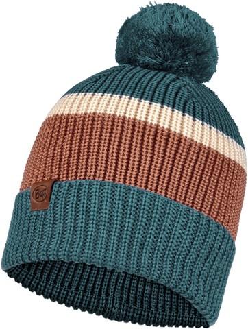 Вязаная шапка Buff Hat Knitted Elon Dusty Blue фото 1
