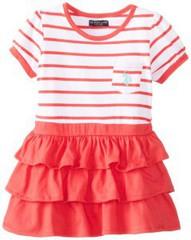 U.S. POLO ASSN Платье с рюшами ДП33