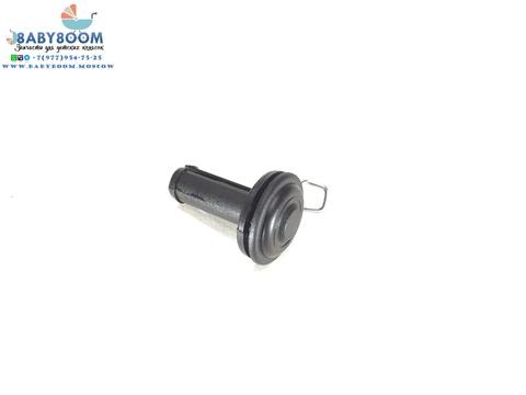 Втулка (заглушка) для колеса детской коляски, размер 34 х 50 х 14 мм, для оси 10 мм.
