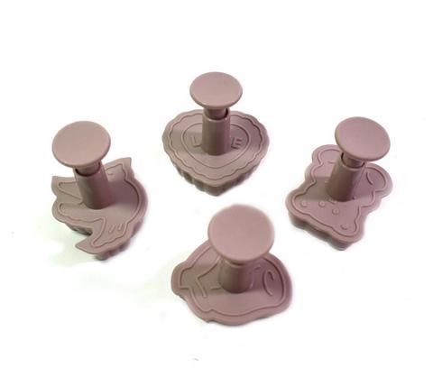 8555 FISSMAN Набор из 4 вырубок для создания декоративных элементов,  купить