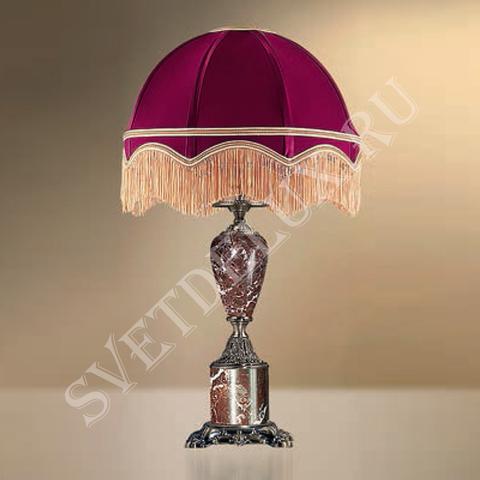 Настольная лампа с абажуром 23-37/3357 ПЕТЕРГОФ