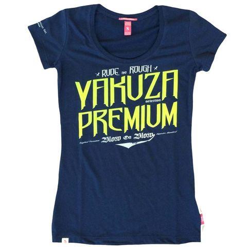 Футболка синяя Yakuza Premium 2137